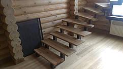 Лестницы открытые на двух косоурах