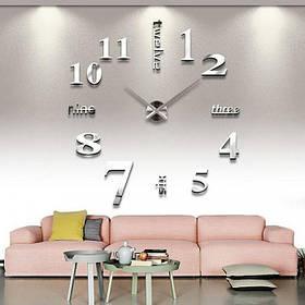 """Часы настенные большие 3D """"DIY"""" от 80 до 150см (ZH015-1S)"""