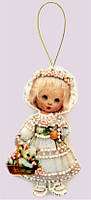 Набор для изготовления игрушки из фетра для вышивки бисером ТМ Батерфляй Кукла. Италия БФ F048