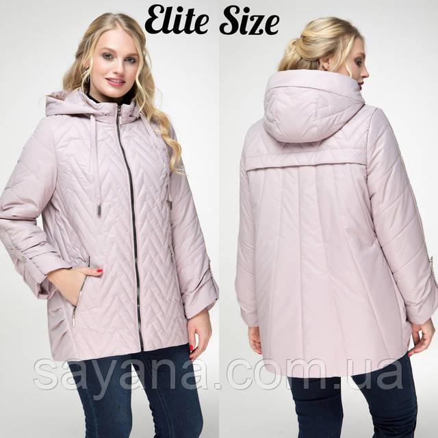 женская куртка большого размера оптом
