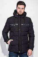 (Черный) (размер XL) Куртка мужская зимняя 19PL138