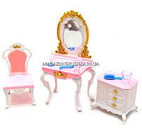 Детская игрушечная мебель Глория Gloria для кукол Барби Спальня 2319. Обустройте кукольный домик, фото 4