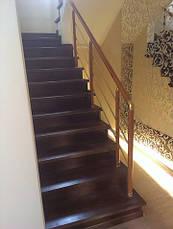 Лестница закрытая ступени дерево, фото 3
