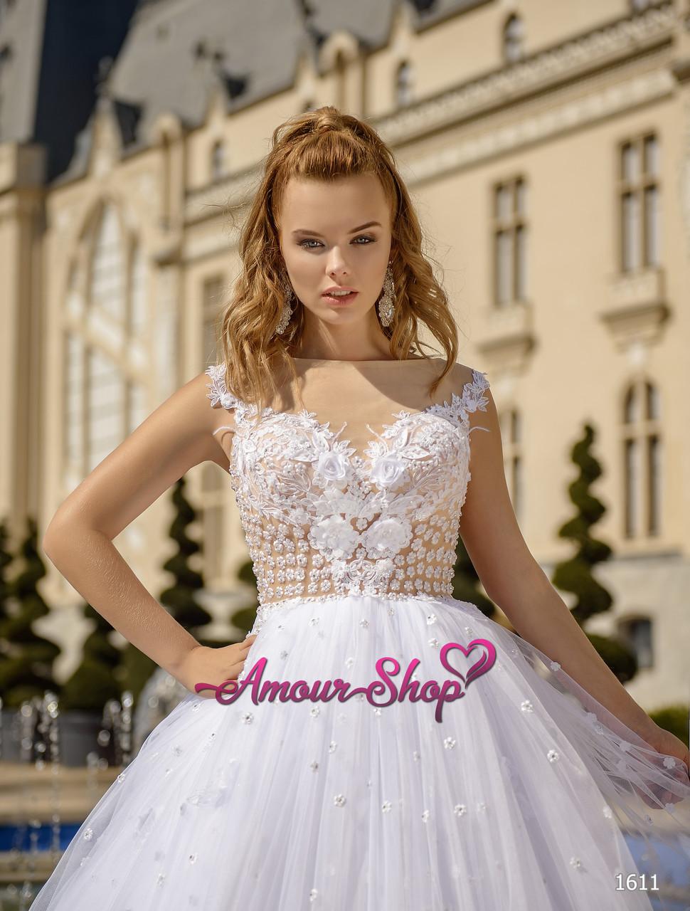 Свадебное платье пышное,  пошив под заказ, Киев.
