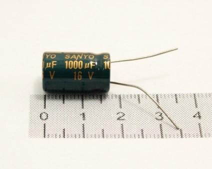 Конденсатор Sanyo 1000uF 16V