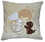 Сувенирная именная подушка с вышивкой, фото 3