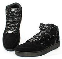 Кросівки чоловічі натуральна замша в стилі nike маломірки (15099-1) 2d6b39c713c77