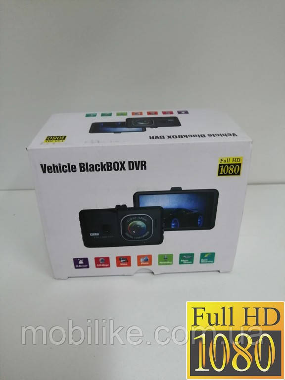 Vehicle Blackbox DVR FULL HD 1080 Видеорегистратор