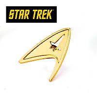 "Значек-эмблема члена экипажа ""Star Trek"" (Звездный путь) , фото 1"