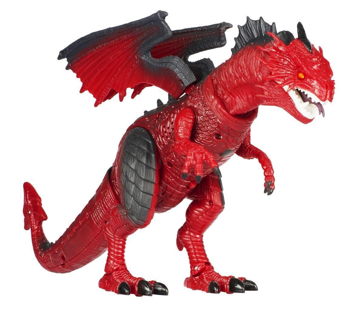 Динозавр дракон на радиоуправлении RS 6159A свет, звук, движение