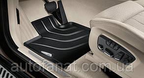 Коврики BMW X5 (F15), X6 (F16) передние в салон оригинальные резиновые (51472458439)