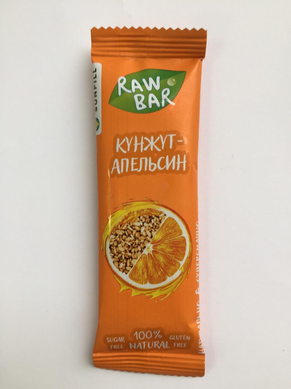 Батончик Sunfill апельсин+кунжут