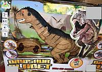 Динозавр Тиранозавр на радиоуправлении свет, звук, ходит, фото 1