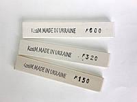 Масляные точильные камни 3 штуки, бруски 6 мм для точилок типа Apex, Ruixin, Казак. Нож точило ножеточка