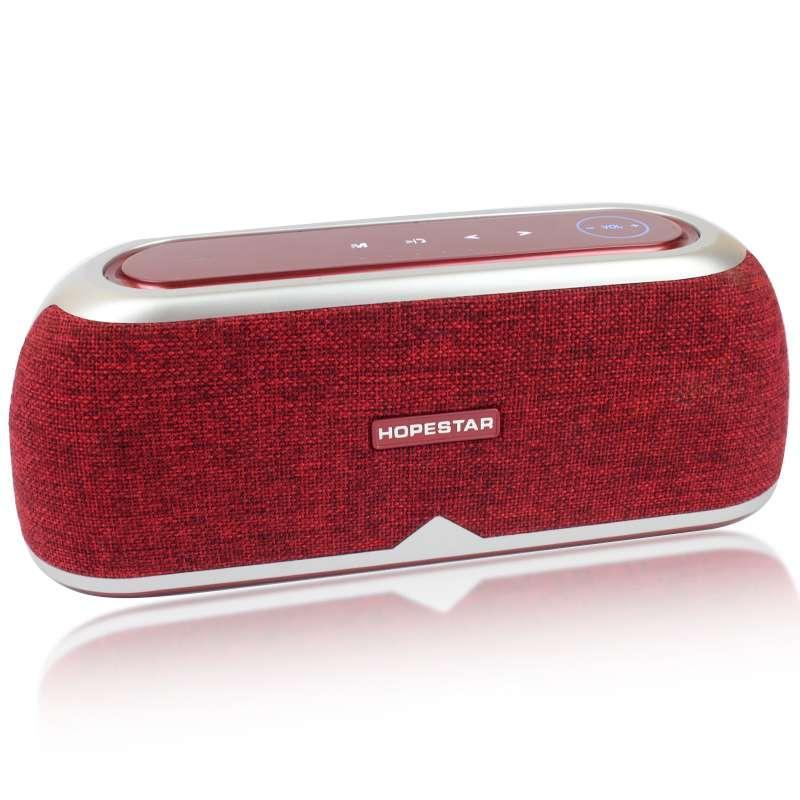 Портативная акустическая Bluetooth колонка Hopestar A4 красная 140059