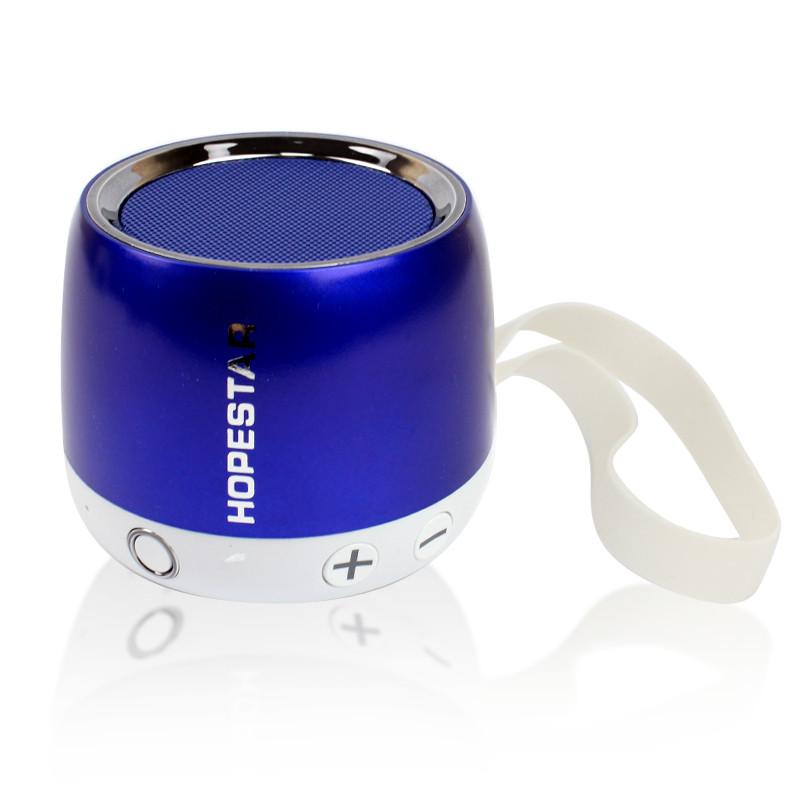 Портативная акустическая Bluetooth колонка Hopestar H17 синяя 140063