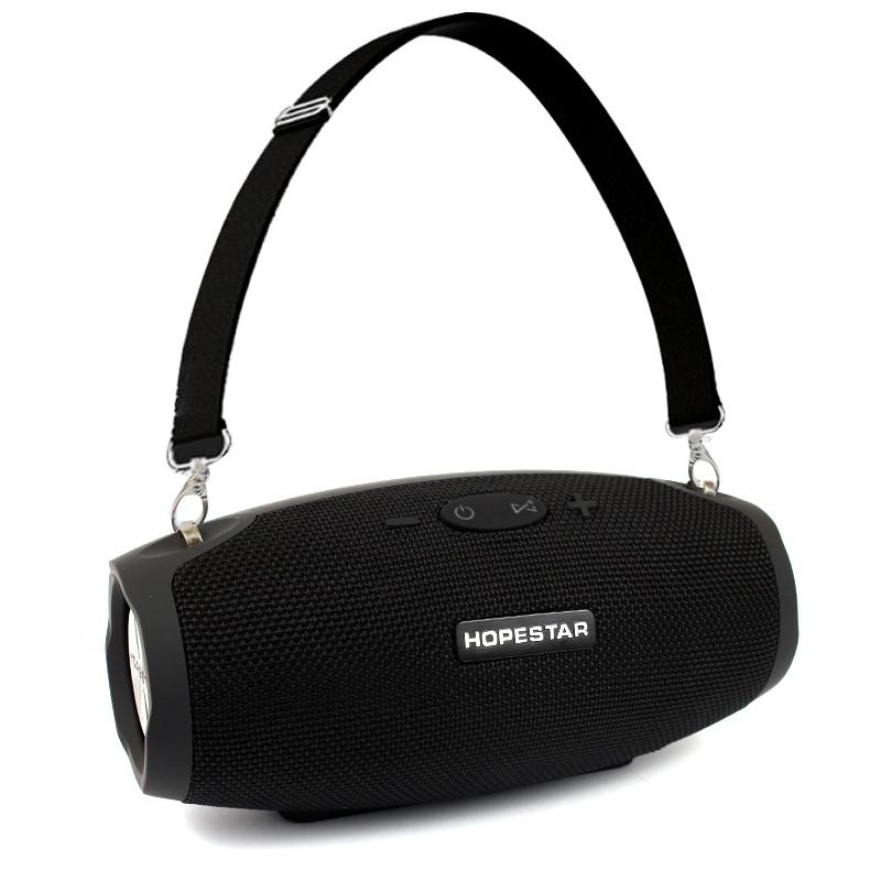 Портативная акустическая Bluetooth колонка Hopestar H26 черная 140068