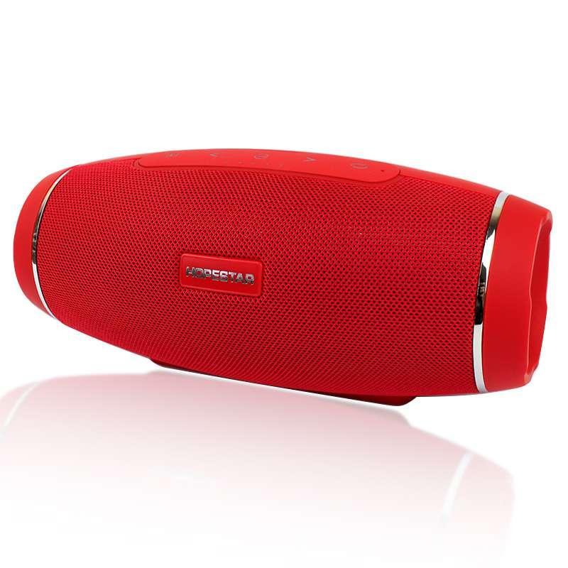 Портативная акустическая Bluetooth колонка Hopestar H27 красная 140077