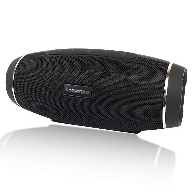 Портативная акустическая Bluetooth колонка Hopestar H27 черная 140078