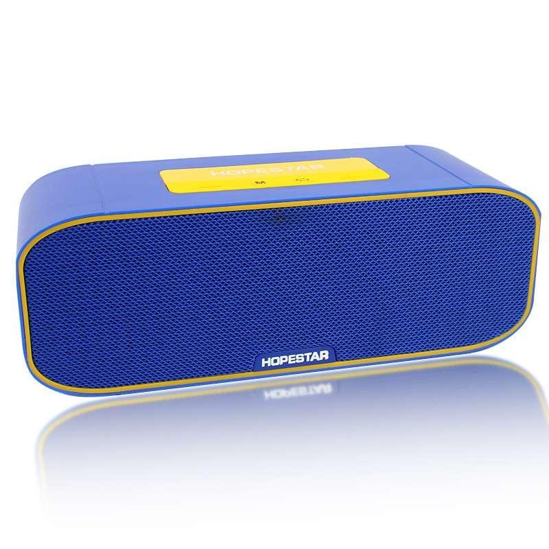 Портативная акустическая Bluetooth колонка Hopestar H29 синяя 140081