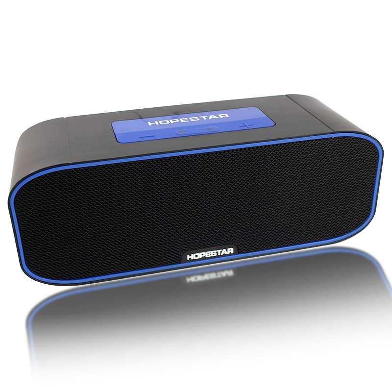 Портативная акустическая Bluetooth колонка Hopestar H29 черная 140082