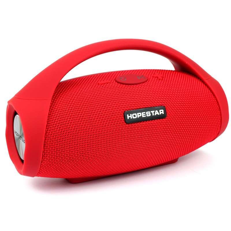 Портативная акустическая Bluetooth колонка Hopestar H32 красная 140083