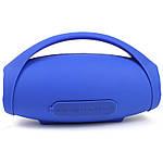 Портативная акустическая Bluetooth колонка Hopestar H32 синяя с желтым 140085, фото 4