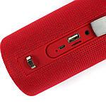 Портативная акустическая Bluetooth колонка Hopestar H39 влагостойкая красная 140051, фото 4