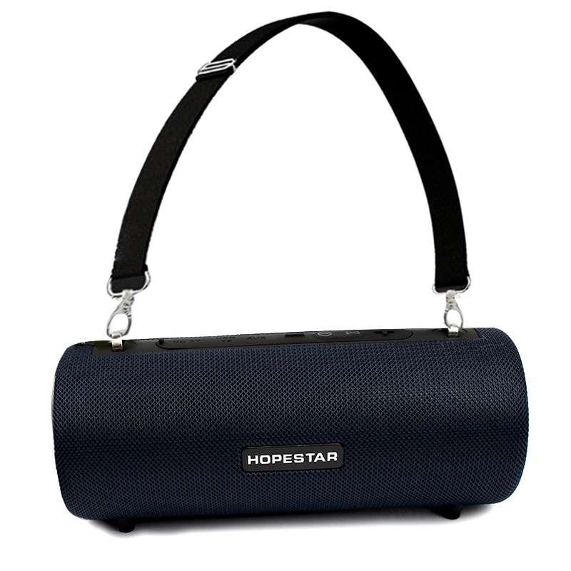 Портативная акустическая Bluetooth колонка Hopestar H39 влагостойкая черная 140089
