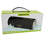Портативная акустическая Bluetooth колонка Hopestar H39 влагостойкая черная 140089, фото 2