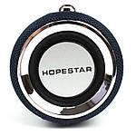 Портативная акустическая Bluetooth колонка Hopestar H39 влагостойкая черная 140089, фото 6