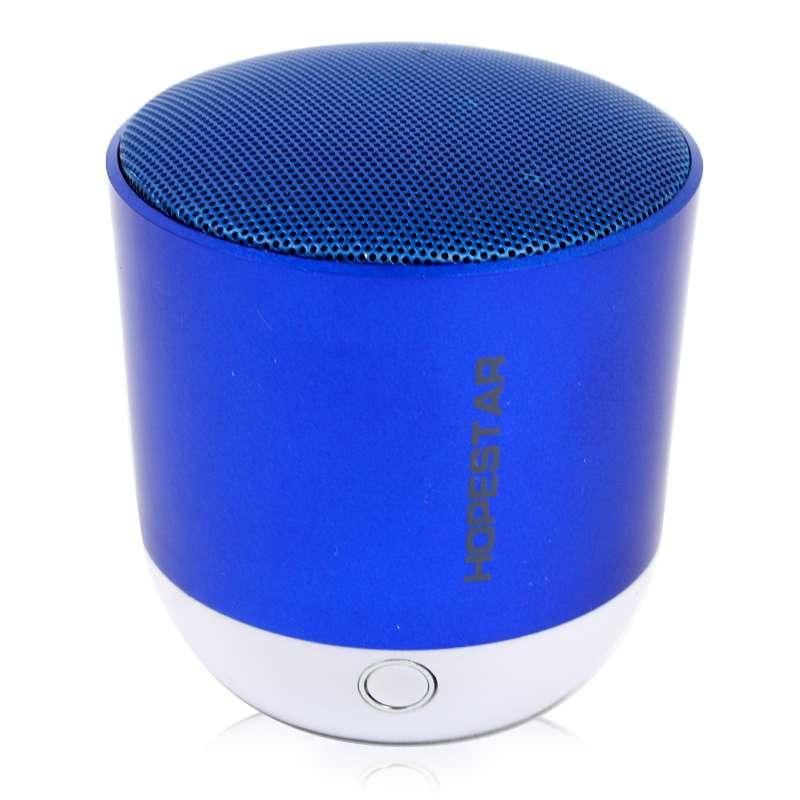 Портативная акустическая Bluetooth колонка Hopestar H9 синяя 140096