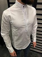 Мужская рубашка белая 0105