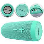 Портативная акустическая Bluetooth колонка Hopestar P7 зеленая 140055, фото 3