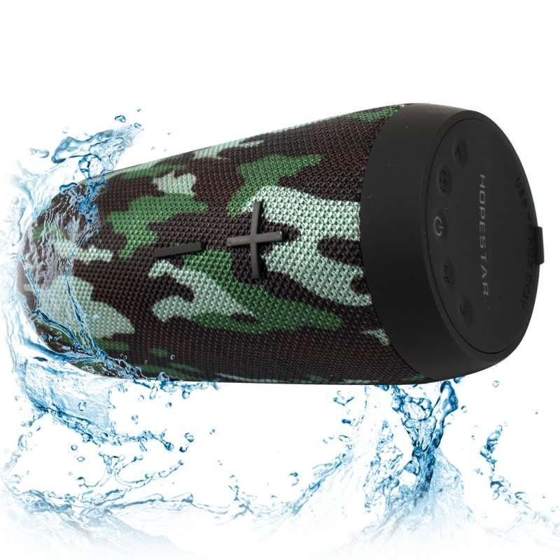 Портативная акустическая Bluetooth колонка Hopestar P7 камуфляж 140070