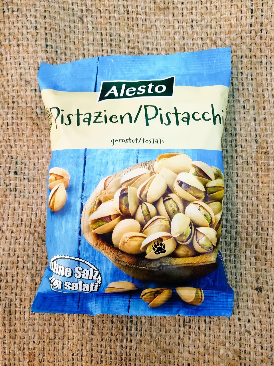 Фисташки Alesto Pistacchio Nuts (no salt) 250 gramm