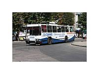 Реклама на транспорте в г. Запорожье