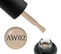Гель-лак Boho Chic BC A-W 002 (бежевый, эмалевый, плотный) 6 мл