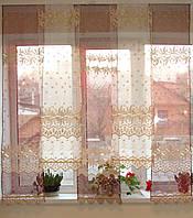 Японские занавески  бордо Купон, фото 1