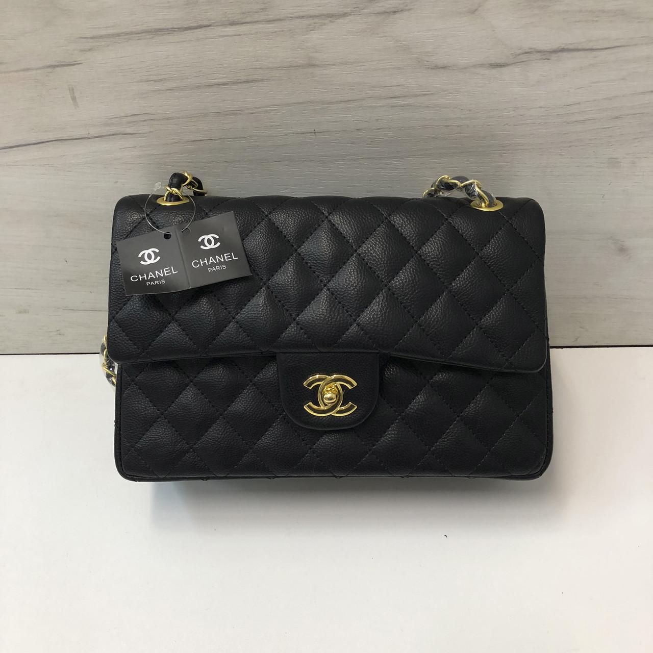 108a49188775 Сумка реплика Chanel classic flap 28см | Шанель золотая фурнитура Черный -  BagsOnline - твоя идеальная