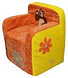 Детское кресло стульчик бескаркасное, фото 7