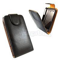 Откидной чехол-флип для Samsung S5300 Galaxy Pocket