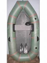 Лодка лисичанка  резиновая  -1.5 местная