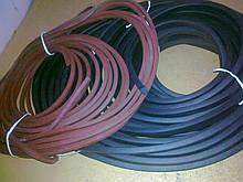 Ущільнювач гумовий монолітний і пористий, довгомірний профіль ГТВ різної складності.