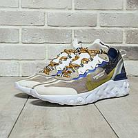 Мужские кроссовки Nike React Element 87(ТОП РЕПЛИКА ААА+), фото 1