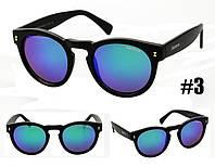 Солнцезащитные очки бренд Illesteva голубой хамелеон