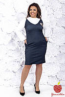 Женский стильный сарафан ЯС713(бат), фото 1