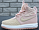 Женские кроссовки Nike Lunar Force 1 Duckboot 17 Pink (Найк Дакбут), фото 2