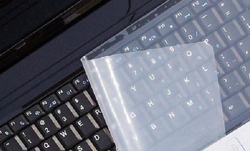 """Защитная пленка для клавиатуры ноутбука (15""""), прозрачная пленка для клавиатуры"""