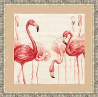 """Набор для вышивания крестом """"Фламинго.Набор №2"""""""